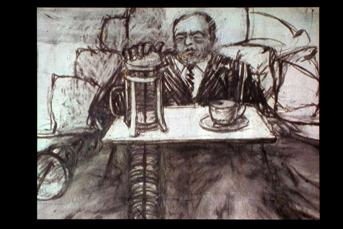 WILLIAM KENTRIDGE. Mine (Mina)