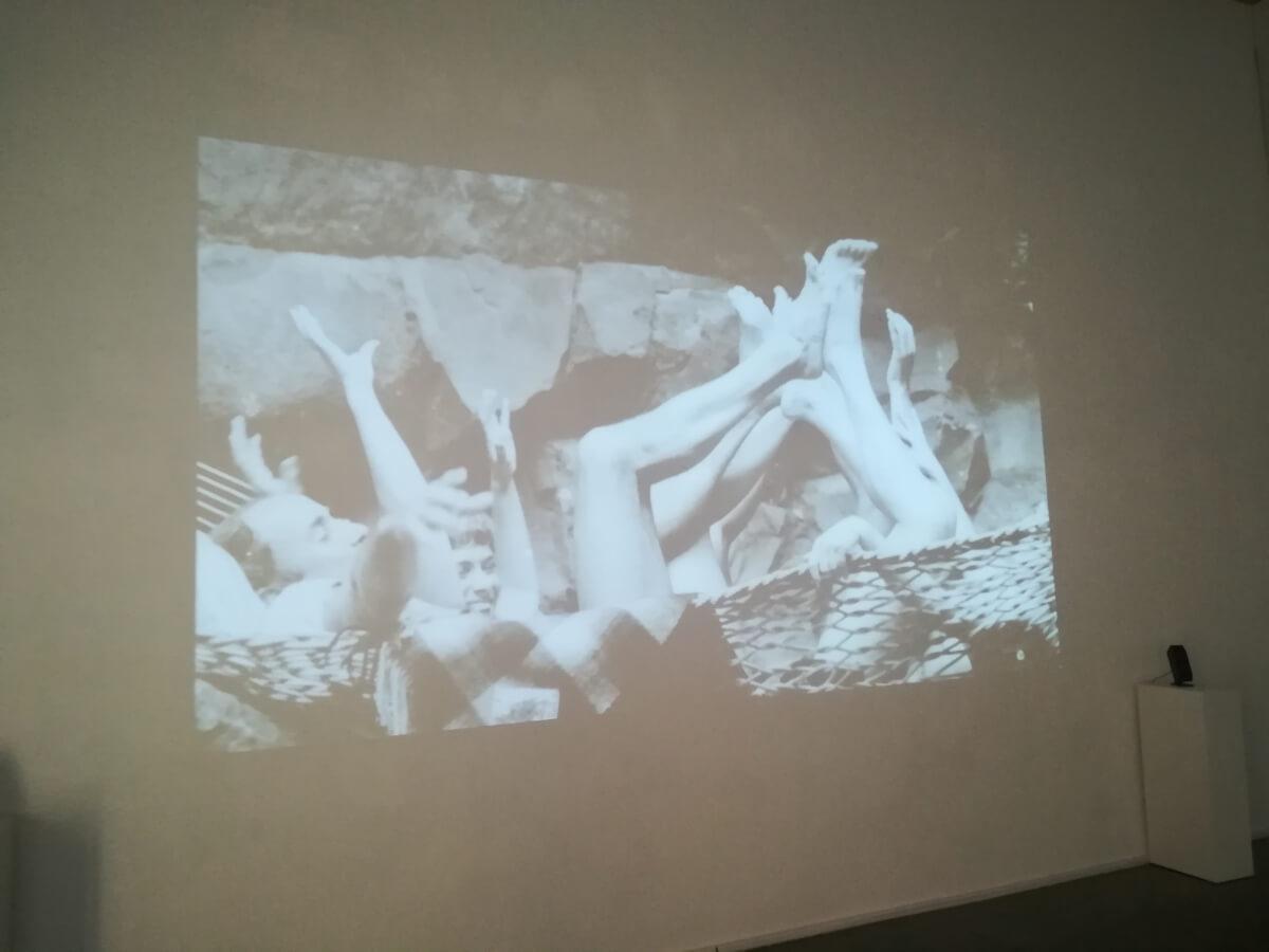 Video-ensayo de Orencio Boix, En el volcán, sala 2 del CDAN